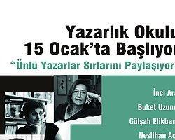 """İzmir'de Yazarlık Okulu: """"Ünlü Yazarlar Sırlarını Paylaşıyor"""""""