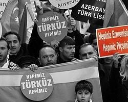 Ermenilere Yönelik 'Irkçı Pankart' Taşıyanlara Ceza