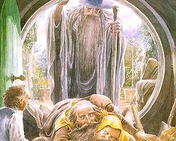 Hobbit'in İllüstrasyonlu Özel Baskısı Raflarda