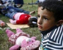 Gazzeli Çocuklardan Sessiz Tiyatro
