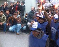 Kapatılmak İstenen Şişecam Topkapı Fabrikası'nın İşçileri Fabrikayı İşgal Etti
