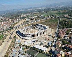 Bursaspor'un Timsah Arena'sı 150 Dağcı İle Figürüne Kavuşacak!