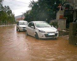 Marmaris'i Sağanak Yağmur Vurdu!