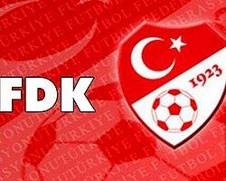 Pfdk'dan 3 Futbolcuya Ağır Ceza!