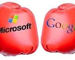 Microsoft'tan Google'a Ciddi Bir Suçlama