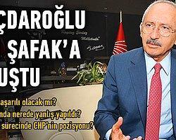 Kılıçdaroğlu Yenişafak'a konuştu