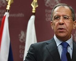 Lavrov: Esad'ın Görevi Bırakması Ön Koşul Olamaz