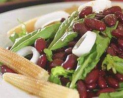 Meksika Fasulyesi Salatası-Hanım Mutfağı