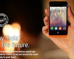 Geeksphone, Geliştiriciler İçin Firefox İşletim Sistemli Telefon Çıkarıyor
