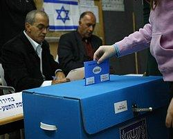 İsrail Seçimlerine Katılım Yüksek