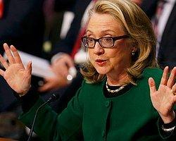 Dışişleri Bakanı Clinton, Senato'ya İfade Verdi