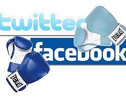 Facebook Twitter Savaşı Kızışıyor