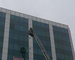 İstanbul Mega Center'da Yangın