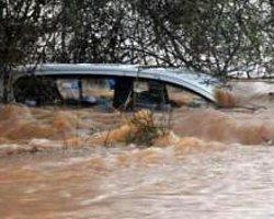Şiddetli Yağmur Muğla'yı Perişan Etti