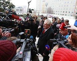 Çek Cumhuriyeti'ne Solcu Devlet Başkanı