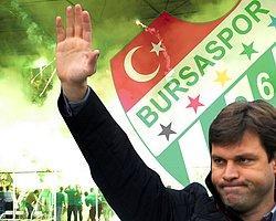 Bursaspor'dan Ertuğrul Sağlam'a Teşekkür Mesajı