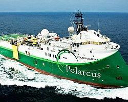 Türkiye'nin Yeni Sismik Gemisi Çanakkale Boğazı'ndan Geçti