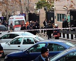 Ankara'da Amerika Büyükelçiliği Önünde Patlama