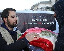 Suriye Yardımları Ortadoğu Basınında Yer Almıyor
