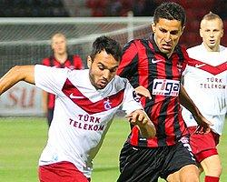 Trabzonspor-Gaziantepspor İşte İlk 11'ler