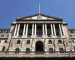 İngiltere Merkez Bankası Faiz Oranlarını Değiştirmedi