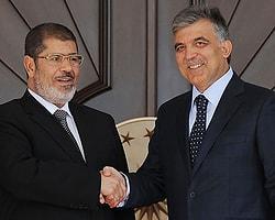 Gül, Mursi'yle bir araya geldi