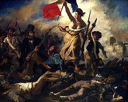 """Hepimizin """"Fransız Devrimi"""" İle İlişkili Olarak Bildiği Ressam Eugene Delacroix'a Ait Tablosu Tahrif Edildi"""