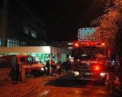 İstanbul Okmeydanı Hastanesi'nde Yangın!