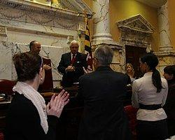 Topbaş ABD'de Maryland Senatosu'na Hitap Etti