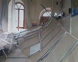 Okulun Tavanı Çöktü, Facianın Eşiğinden Dönüldü