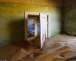 Kuma Gömülen Esrarengiz Köye Akın Var