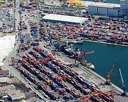 Mersin Limanında İşçi Eylemi