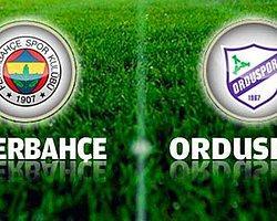 Fenerbahçe Ordu Deplasmanında