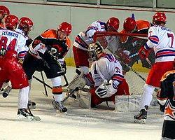 Buz Hokeyinde Şampiyon Başkent Yıldızları