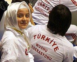Başörtülü Türk Sporcu  Diskalifiye Edildi