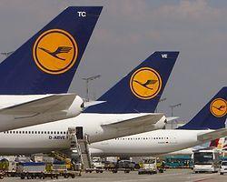 Lufthansa'da Çok Sayıda Uçuş İptal Edildi