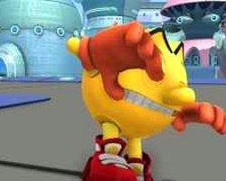 Pac-Man And The Ghostly Adventures Oyun Oluyor