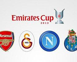 Galatasaray Emirates Cup'ta!