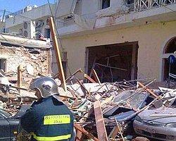 Yunanistan'da Patlama: 14 Yaralı