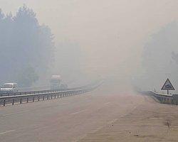 Yangın Yolları Kesti: İzmir-İstanbul Ulaşımı Kapandı
