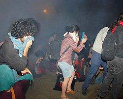 Özgür Gündem - Polis Gazı Gezi Parkı'nda Yangın Çıkardı