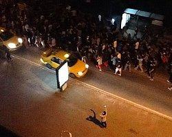 Gezi Parkı'na Yapılan Müdahale, Taksim'e Doğru Yayıldı