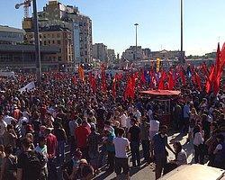 Taksim'de Olaylar Yeniden Alevlendi
