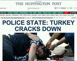 The Huffington Post 'Gezi Parkı' eylemlerini manşetten verdi