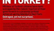 New York Times'ta Tam Sayfa Gezi İlanı