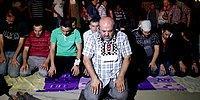 Gezi Parkı'nda Miraç Kandili Etkinliği