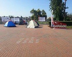İzmir'de Direniş Çadırları Kuruldu