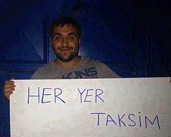 Abdullah Cömert Gezi'de Fidan Oldu