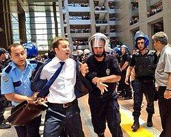 Çağlayan Adliyesi'nde Avukat ve Polisler Arasında Arbede