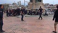 Polisler Gezi Parkı'ndaki Gençlerle Top Oynadı